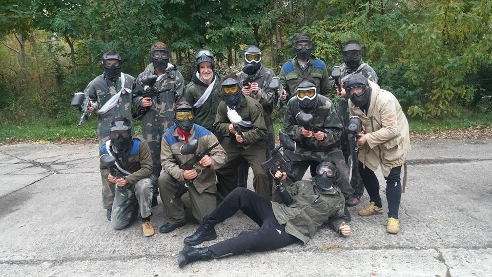 Legénybúcsús paintball