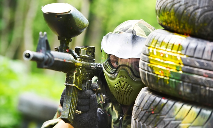 Paintball war in the depth típus