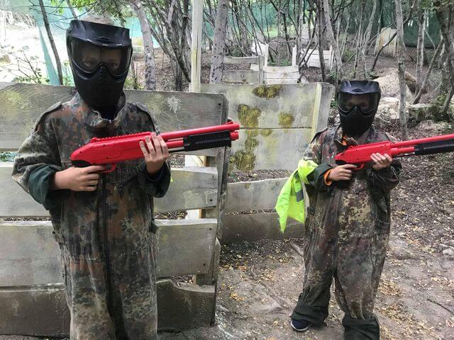 Gyerek paintball fegyverek