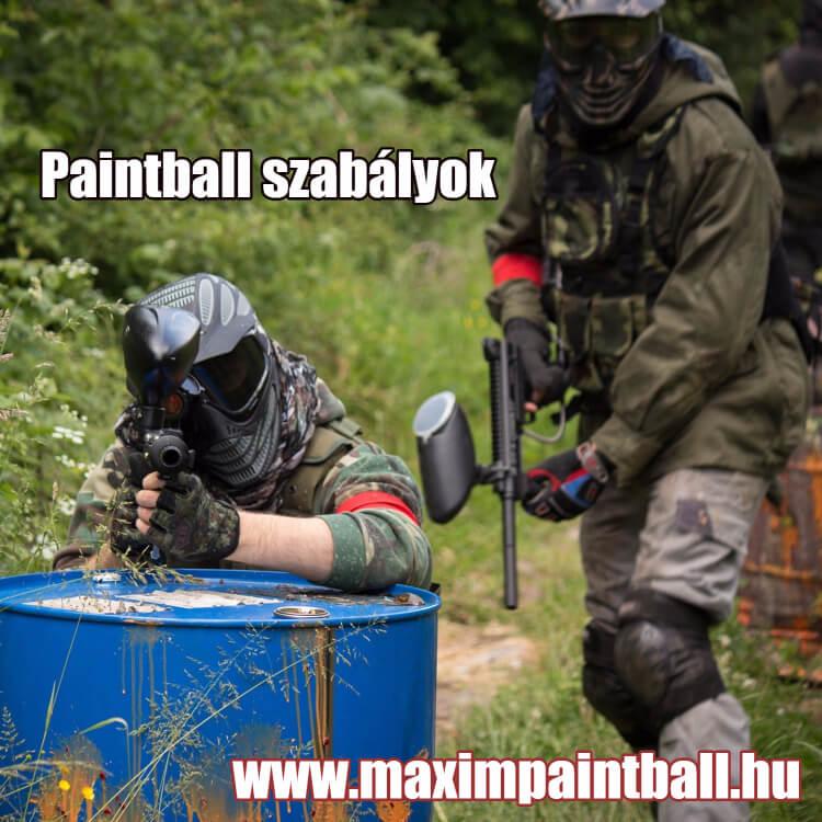 Paintball szabályok